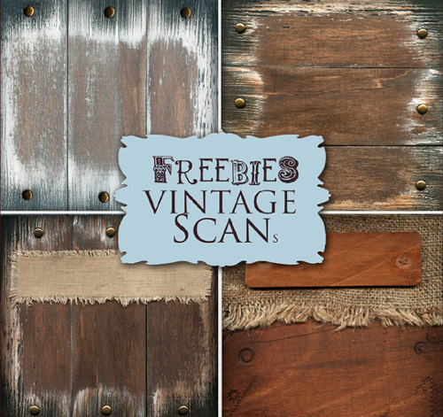 Wooden Vintage Backgrounds