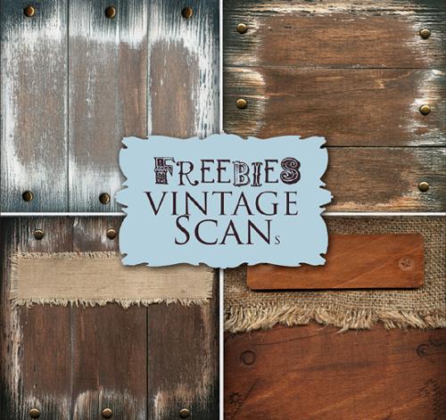 Vintage Wooden Backgrounds