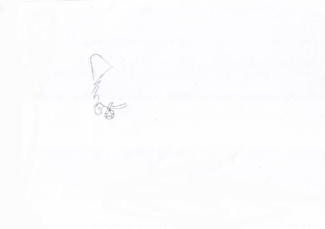 Рисуем крылатого волка.