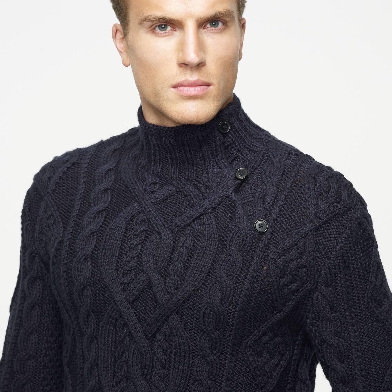 Temporarylux свитера для мужчин спицами