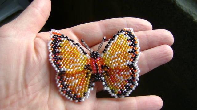 очередная бабочка по схеме