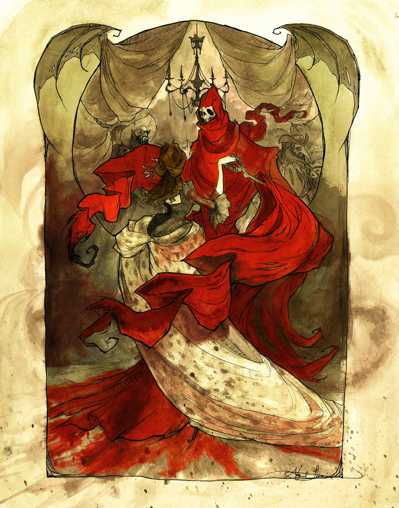 exploring the themes in edgar allan poes the masques of the red death The masque of the red death read by gabriel byrne audiobook edgar allan poe.