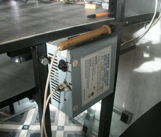 Паяльная станция из блока питания компьютера своими руками