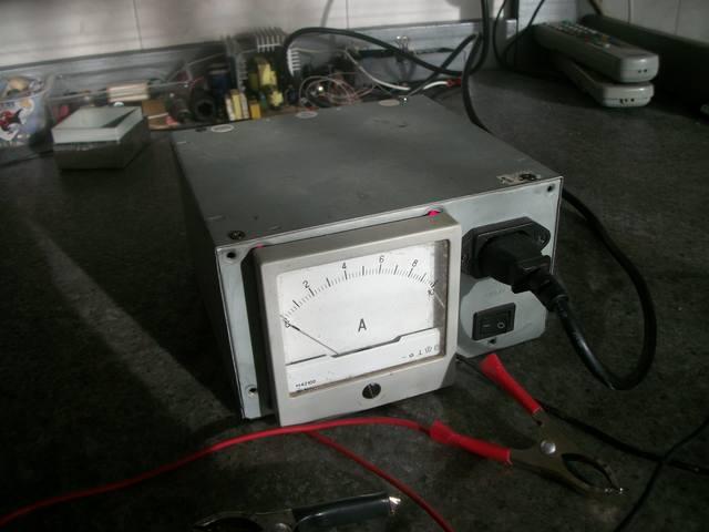 Зарядное устройство для автомобильных аккумуляторов из старого компьютерного БП.  Идея, конечно, не моя.