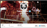 Tokio Hotel tokiohotel в Твиттере