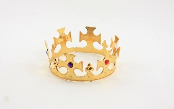 Как сделать корону своими руками как у короля
