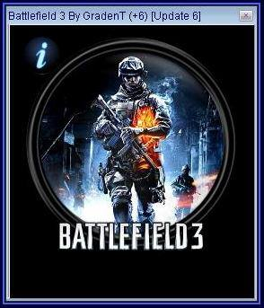 Battlefield 3 картинка трейнера к игре