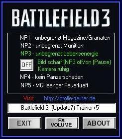 Battlefield 3 ( Трейнер +5 )