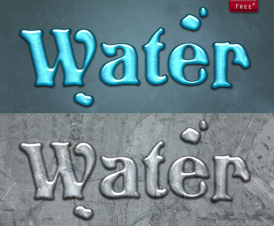 Water Style for Photoshop