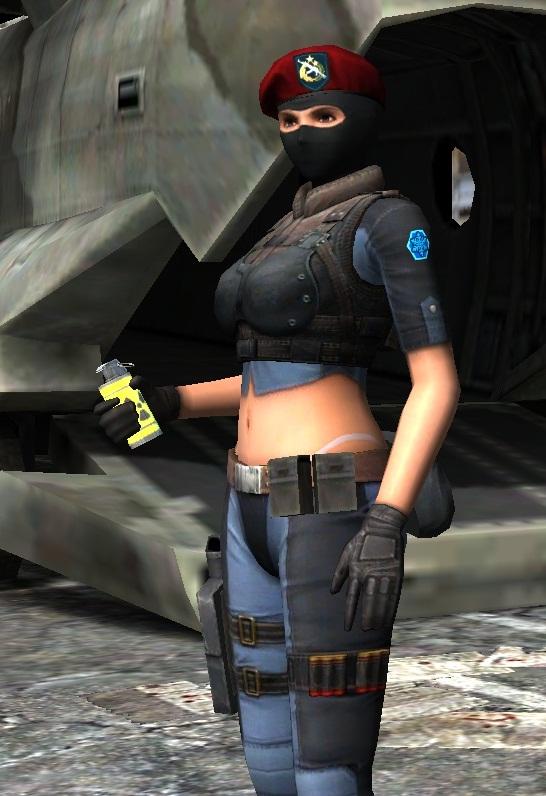 SWAT (жен.) с WP Smoke Plus