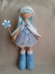 Кукла снежка своими руками фото