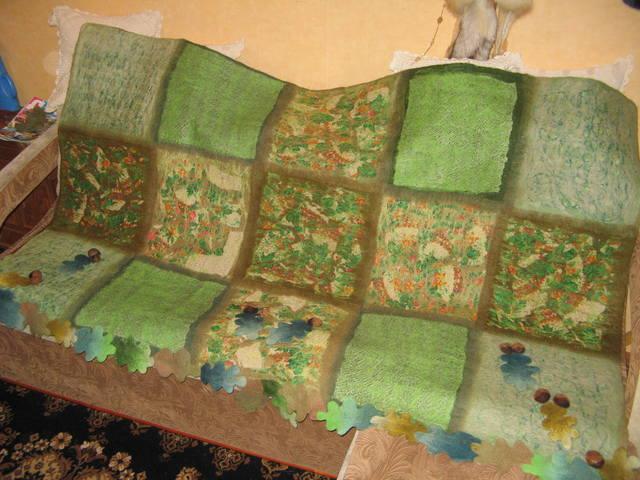 Шерстяные одеяла своими руками 48
