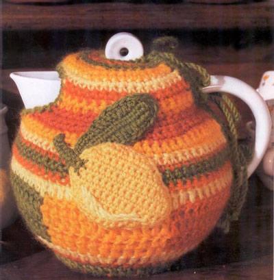 Вязание крючком петушок на чайник