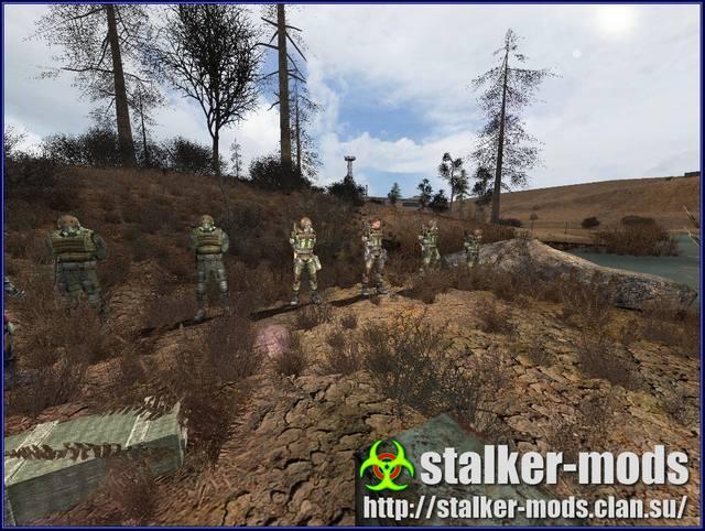 новые модификации stalker