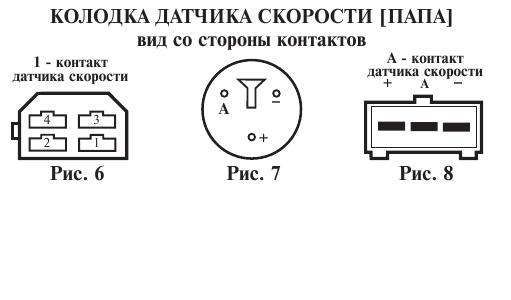 Схема подключения датчика скорости газель 4056