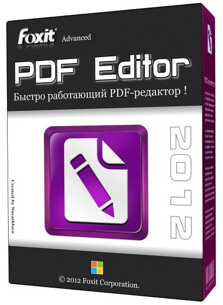 Foxit Advanced PDF Editor 3.04 Ru/En Portable