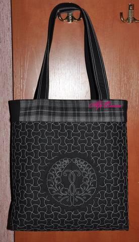 сумка с камоном лицо