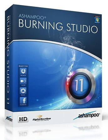 Ashampoo Burning Studio 2013 11.0.6.40 Ru/En Portable