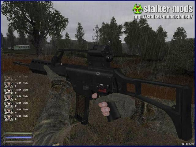 модификации оружия сталкер
