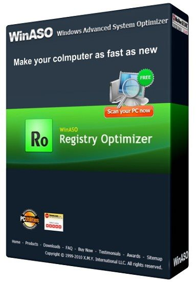 WinASO Registry Optimizer 4.8.6.0 Portable