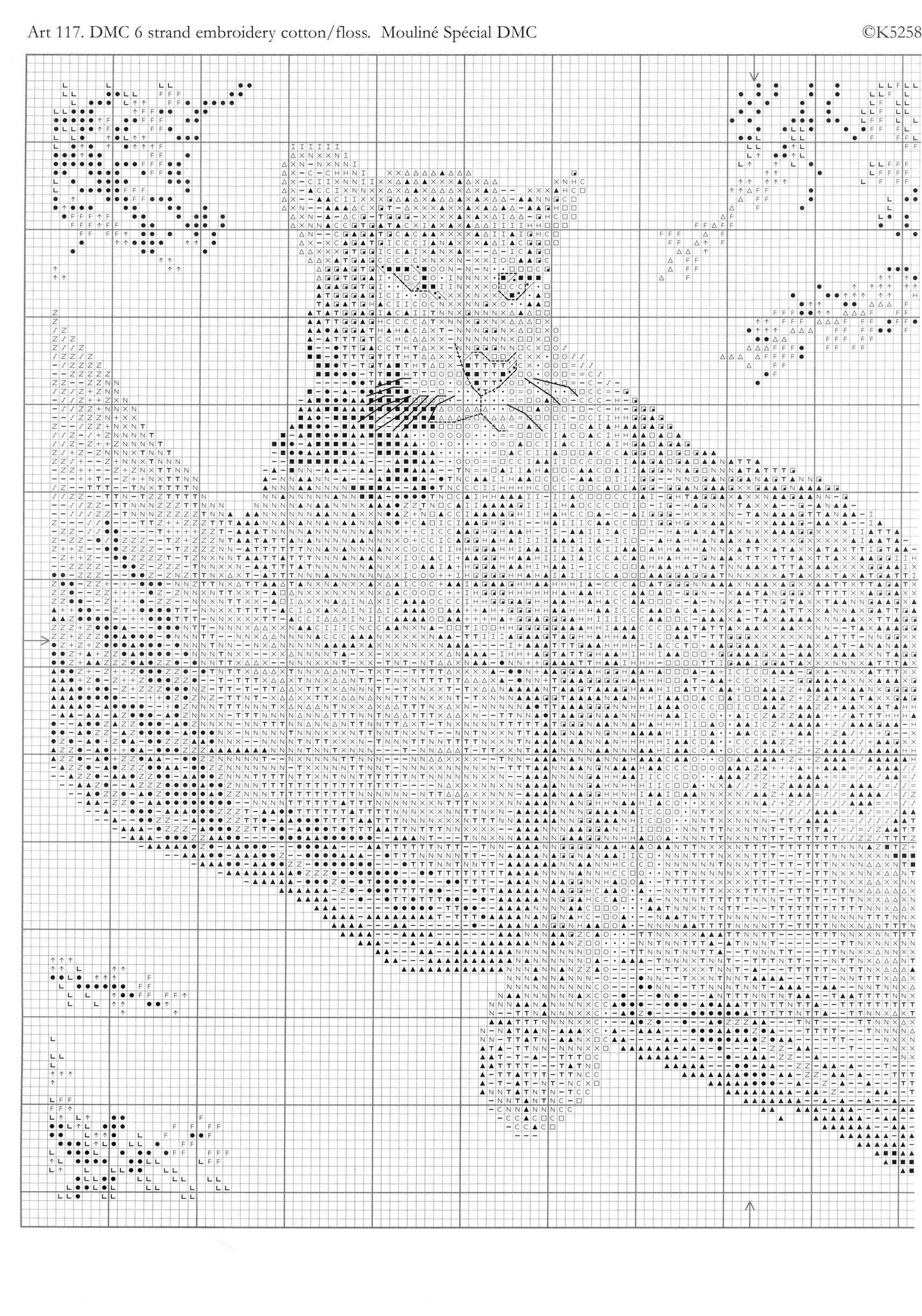 Вышивка крестом леопарды схема 53