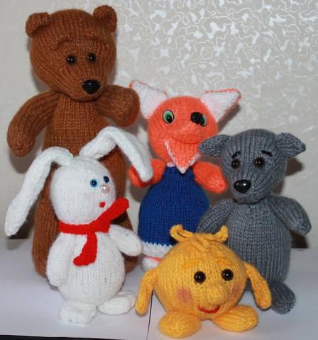 Фото игрушек, связанных по МК 1665359_m