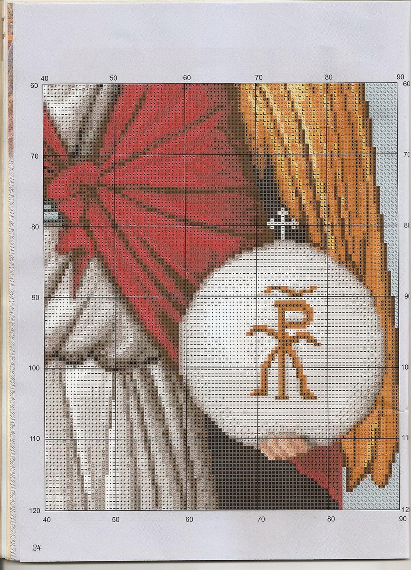 Архангел михаил вышивка крестиком