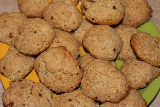 Печенье на кефире, рецепты