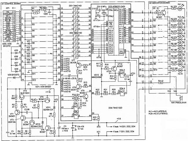 Система питания схема работы.  Маломощные усилитель звука схема.