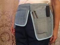 Строительный пояс своими руками из джинса 54