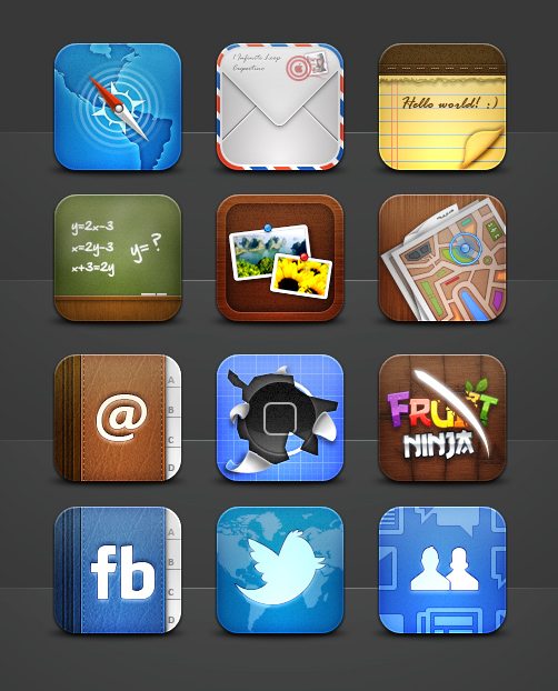 Collection of iPhone Icons 2