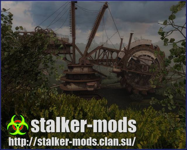 stalker мод