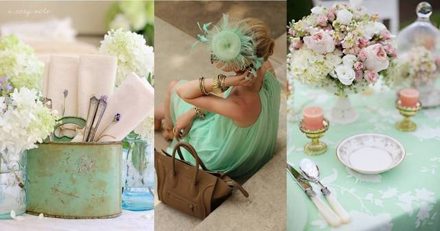 2013-wedding-trends-Mint-color-everywhere-2