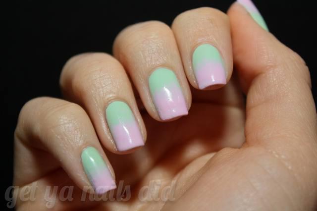 mint pink gradient-1