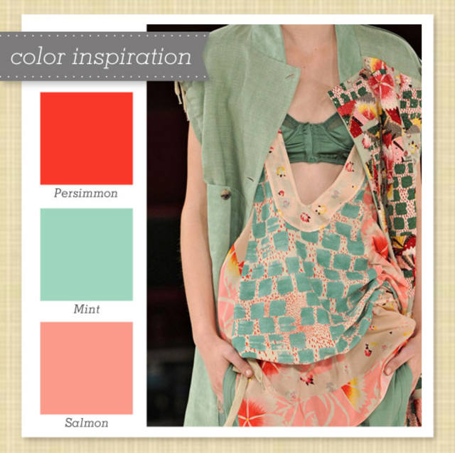 red mint pink