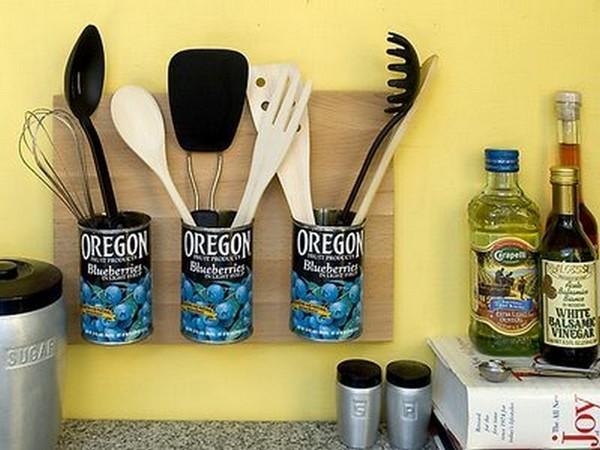 Органайзеры своими руками для кухни