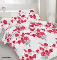 437cc63cd0d7a Сатин Розы (20-0839 Red Black), 100% хлопок, Пакистан. Красивый  жемчужно-серый фон и традиционный цветочный рисунок. Классика, но в  современном звучании.