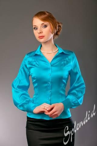 Черная Шелковая Блузка В Новосибирске