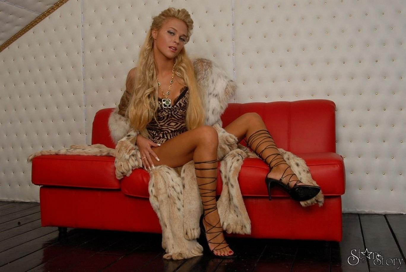 Тупая русская блондинка 1 фотография