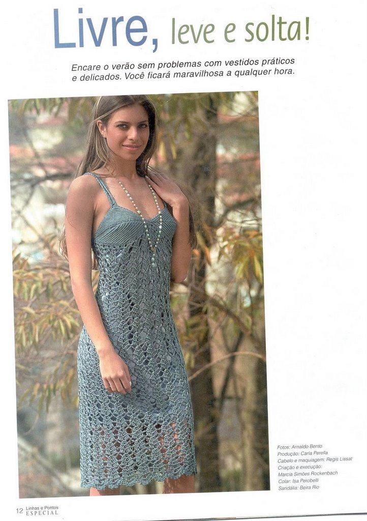 Летние Вязаные Платья Всё Лучшее В Блоге