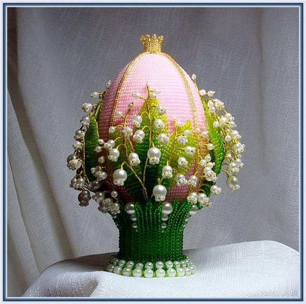 Яйцо оплетенное мастер класс пошаговый #6