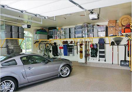 Обустройство гаража своими руками поможет заработать.
