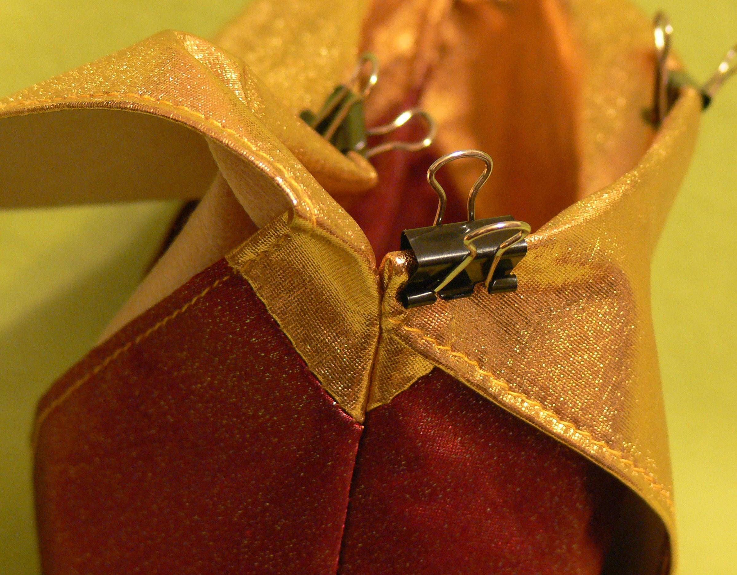 Как сделать кулиску на сумку