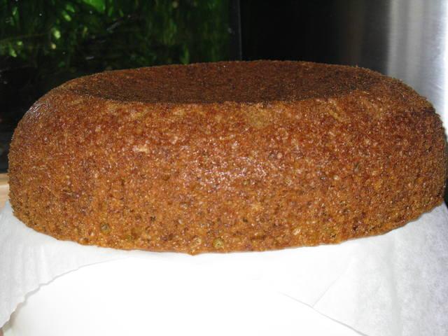 Постный бисквит