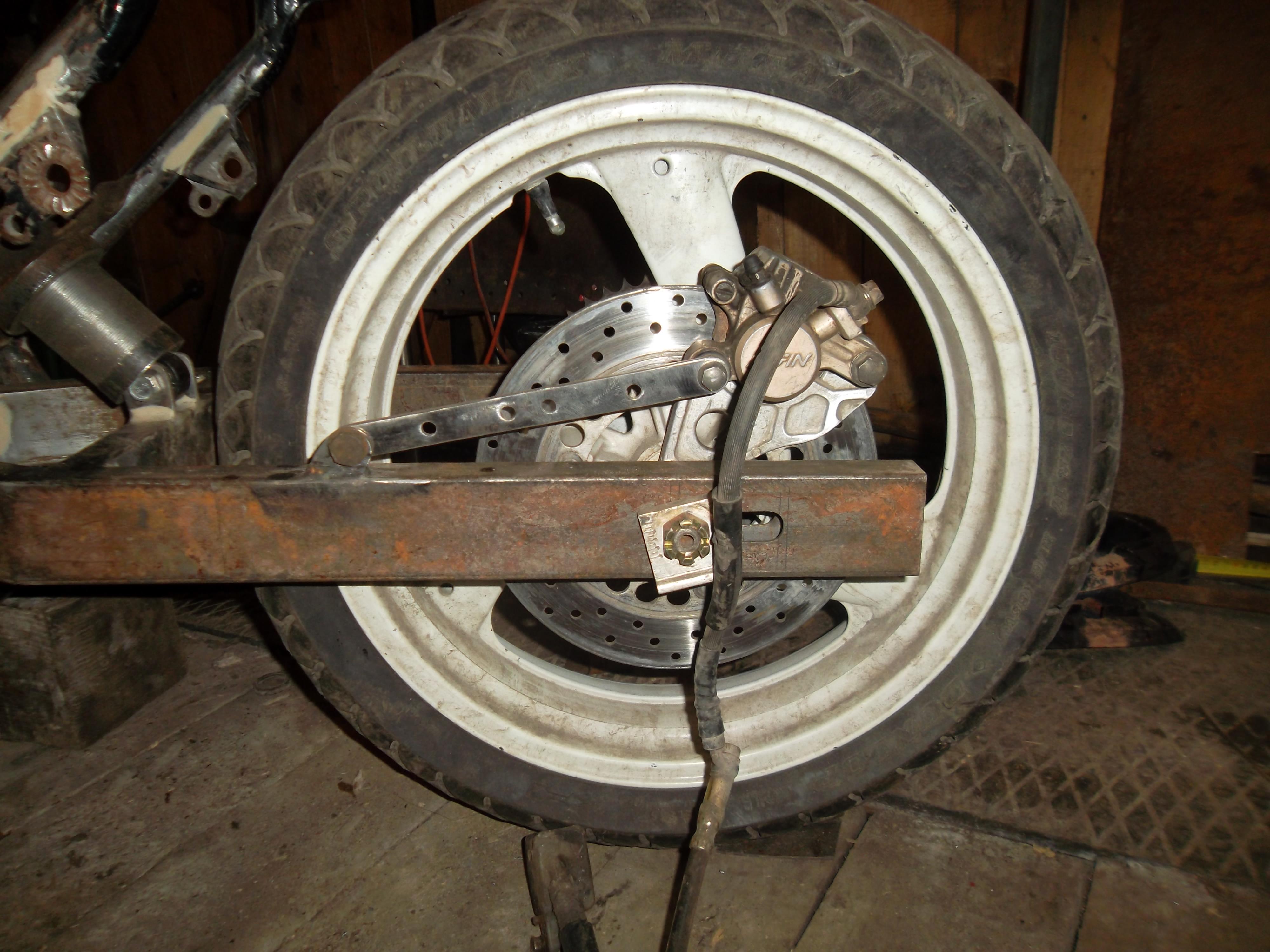Тормозные диски для мотоцикла своими руками 28