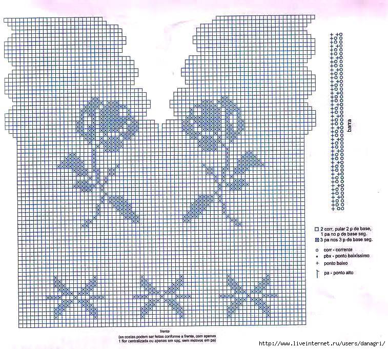 Филейное вязание для детей крючком схемы и описание 83