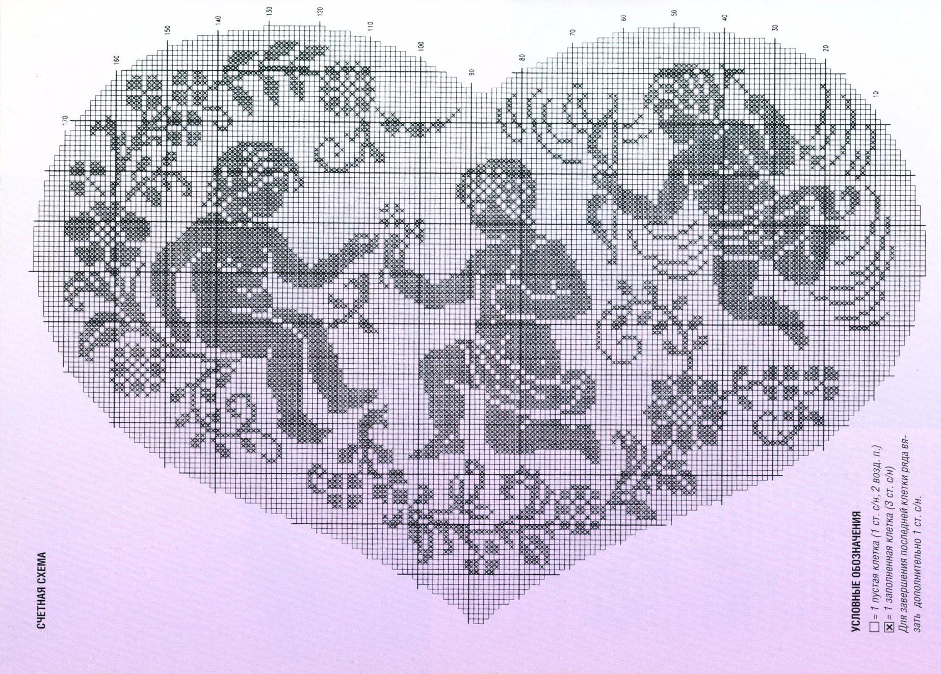 Иконы филейное вязание крючком