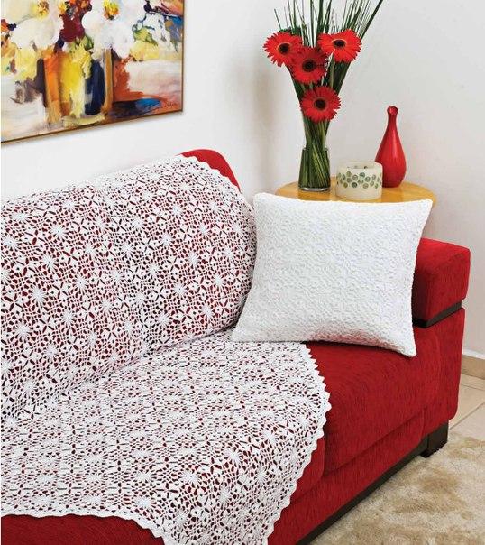 Диванные подушки покрывало