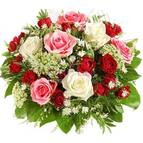 Букет цветы поздравление с днем