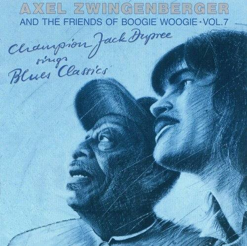 (Blues / Boogie / Piano) Axel Zwingenberger And The Friends Of Boogie Woogie Vol. 7 - Champion Jack Dupree Sings Blues Classics - 1992, FLAC (tracks+.cue), lossless